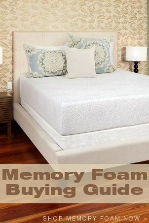 Memory Foam Buying Guide