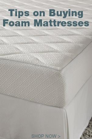 Tips on Buying Foam Mattresses