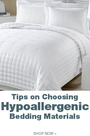 Tips on Choosing Hypoallergenic Bedding Materials