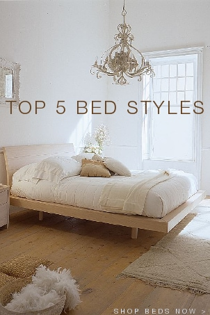 Top 5 Bed Styles