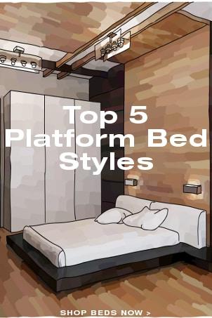 Top 5 Platform Bed Styles