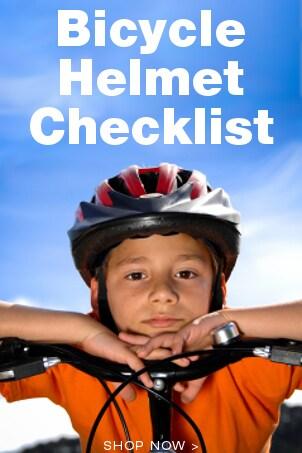 Bicycle Helmet Checklist