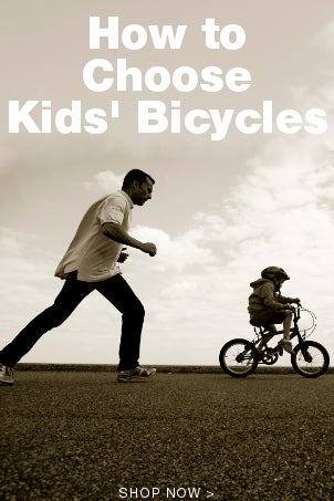 How to Choose Kids Bicycles
