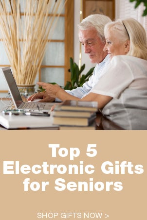 Top 5 Electronic Gifts for Seniors