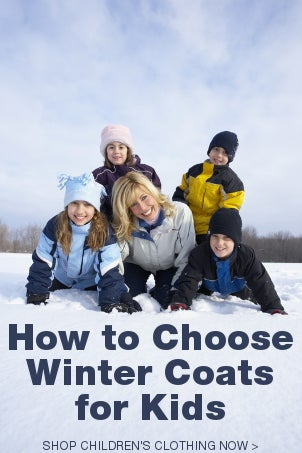 How to Choose Winter Coats for Kids
