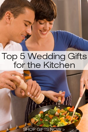 Top 5 Wedding Gifts for the Kitchen