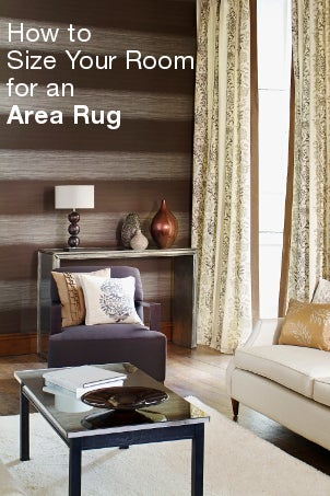 How to Size Your Room For an Area Rug