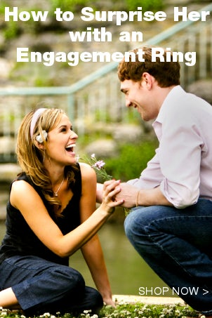 How to Surprise Her with an Engagement Ring