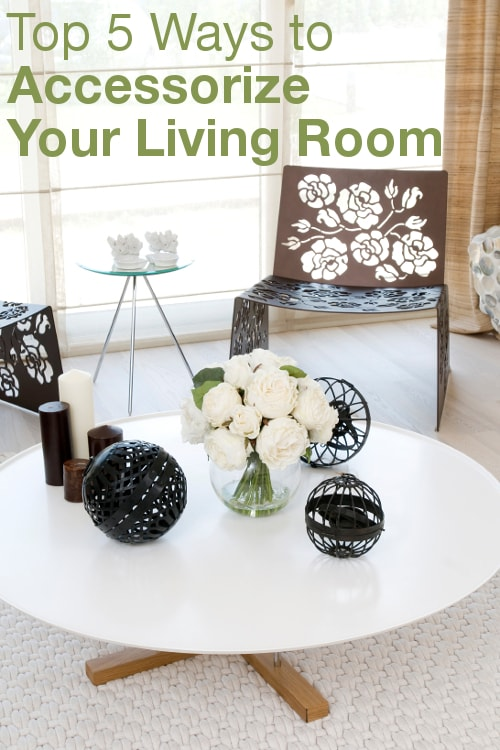 Top 5 Ways to Accessorize Your Living Room from Overstock™. Read the best tips for updating your living room.
