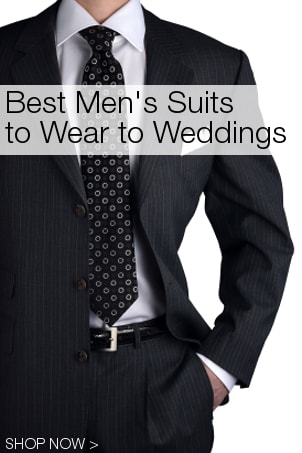 Best Men's Suits to Wear to Weddings