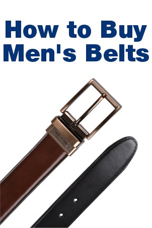 How to Buy Men's Belts