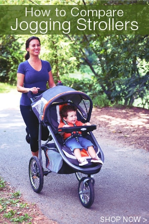 How to Compare Jogging Strollers