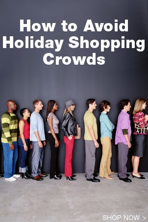 How to Avoid Holiday Shopping Crowds