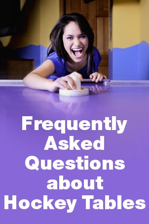 FAQs about Hockey Tables