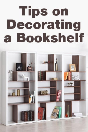 Tips on Decorating a Bookshelf