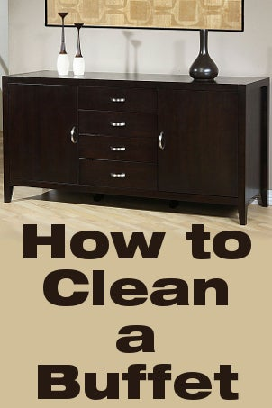 How to Clean a Buffet