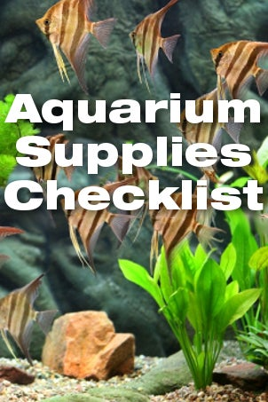 Aquarium Supplies Checklist