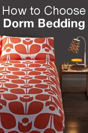 How to Choose Dorm Bedding