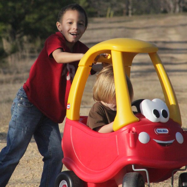 Ride-on toys are no stocking stuffer; these big toys are sure to be a hit on Christmas morning. Shop for ride-on toys based on your child's age.