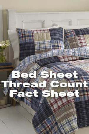 Bed Sheet Thread Count Fact Sheet from Overstock™. Here's what you need to know about thread count before you buy new sheets for your bed.