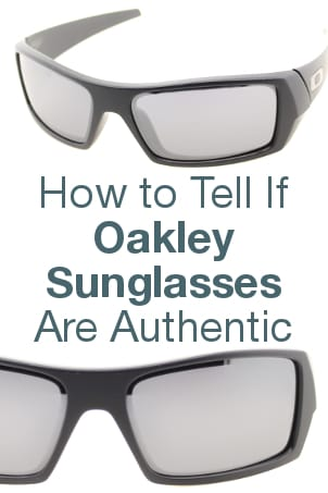 How to Tell if Oakley Sunglasses are Authentic