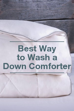 Best Way to Wash a Down Comforter