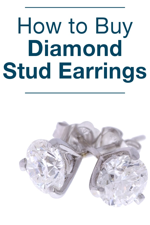 How to Buy Diamond Stud Earrings