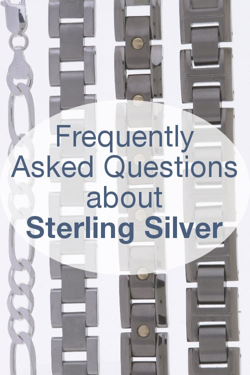 FAQs about Sterling Silver