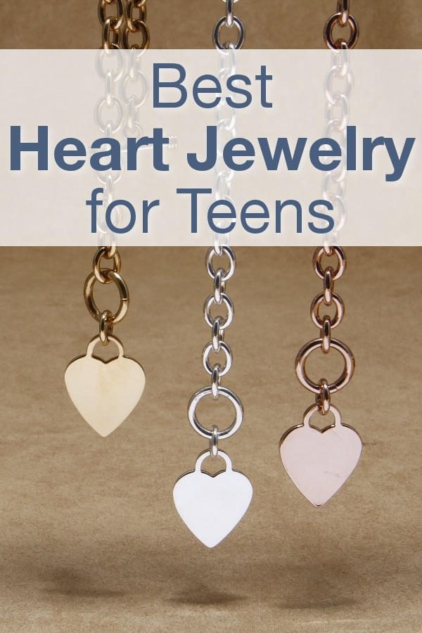 Best Heart Jewelry for Teens