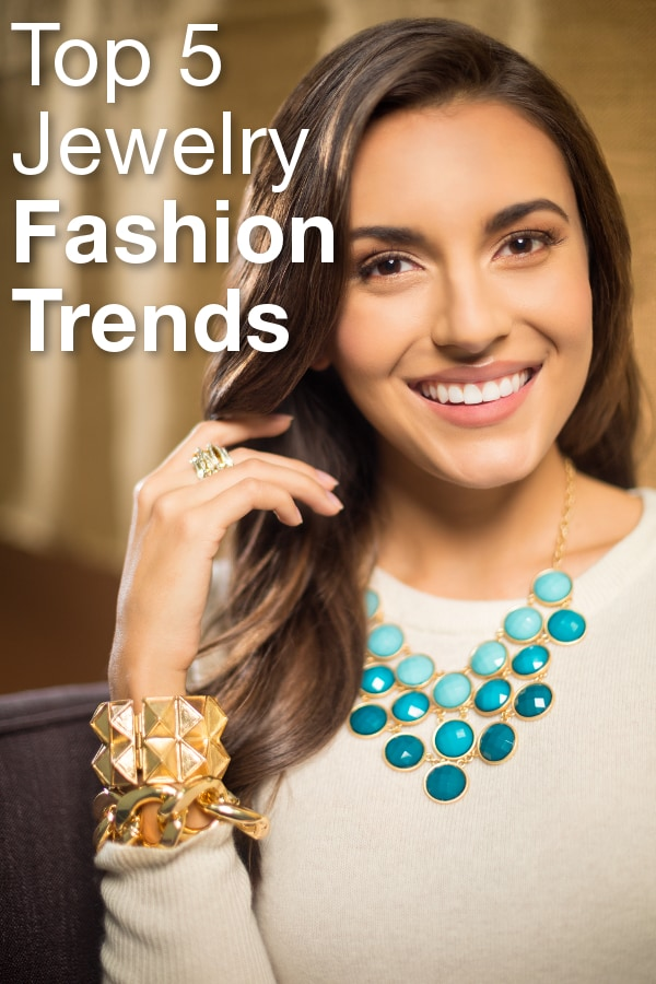Top 5 Jewelry Fashion Trends from Overstock™. Need a easy way to refresh your style? Update your wardrobe with these top fashion jewelry trends.