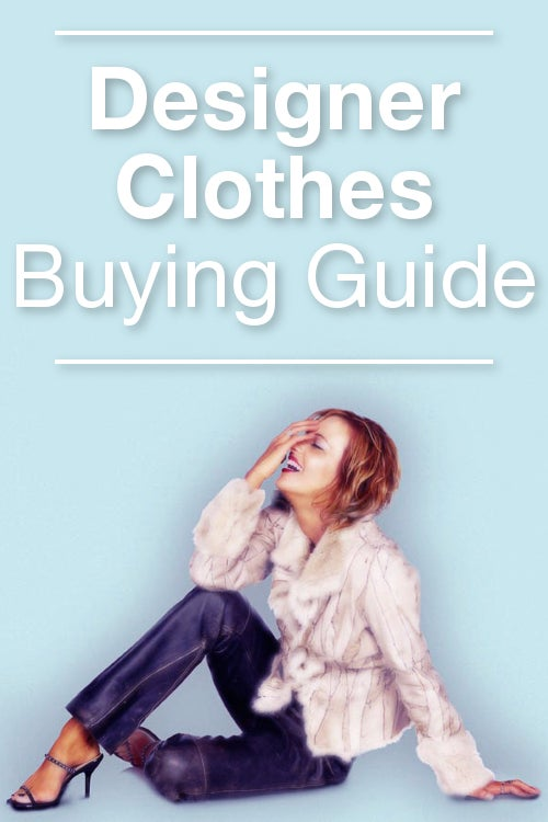 Designer Clothes Buying Guide