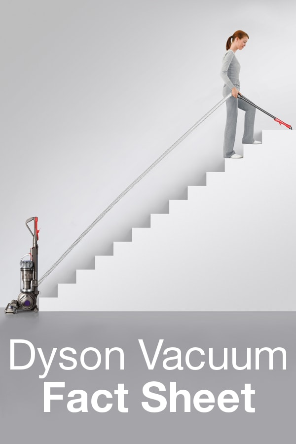 Dyson Vacuum Fact Sheet from Overstock™. Dyson believes in the simple principle that things should work properly. Their vacuum cleaners are the result of that dedication.
