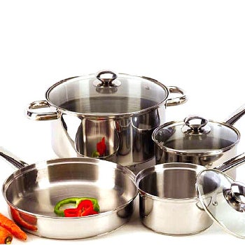 Shop Stainless Steel Pots & Pans