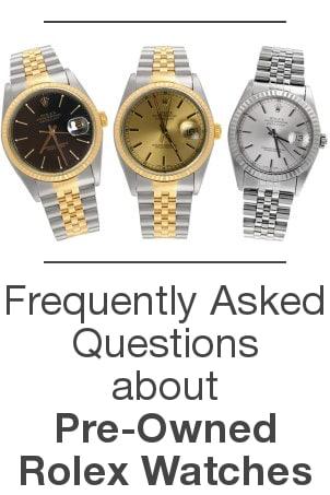 Rolex FAQ