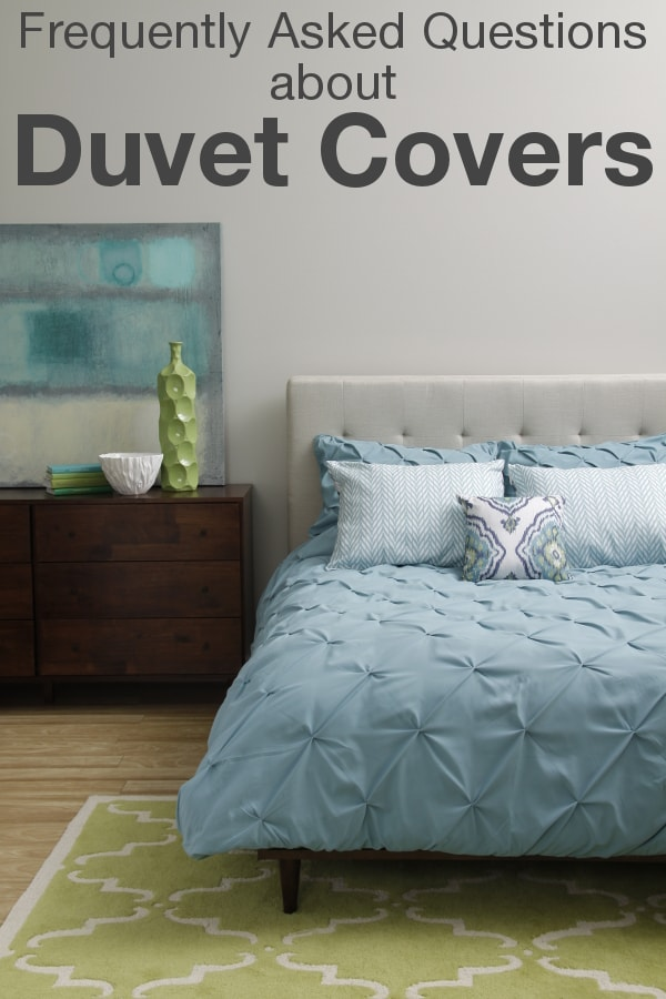 FAQs about Duvet Covers