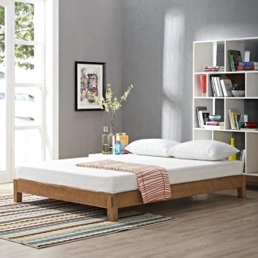 Mattress on bed
