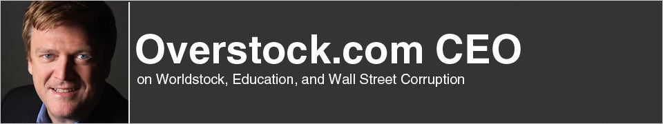 Overstock.com CEO Speaks Out
