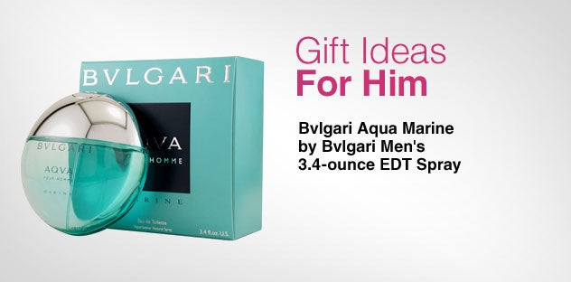 Gift Ideas for Him - Day 8 - Bvlgari Aqua Marine by Bvlgari Men's 3.4 ounce EDT Spray