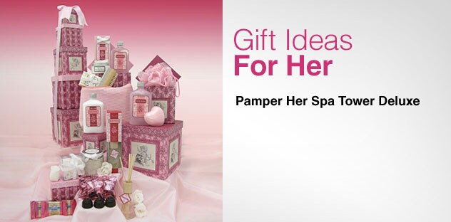 Gift Ideas for Her - Day 2 - Pamper Her Spa Tower Deluxe