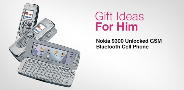 Gift Ideas for Him - Day 5 - Nokia 9300 Unlocked GSM Bluetooth Cell Phone