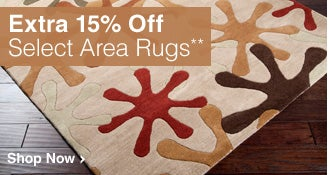 Extra 15% Off Select Area Rugs** - Shop Now