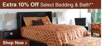 Extra 10% Off Select Bedding & Bath** - Shop Now