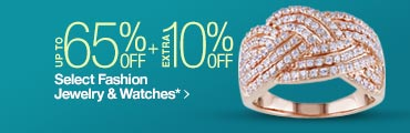 Extra 10% off Select Fashion Jewelry & Watches
