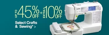 Extra 10% off Select Crafts