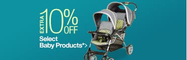 Extra 10% off Select Baby