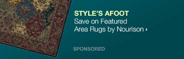 Style's Afoot>>Save on Featured Area Rugs by Nourison