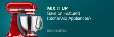Mix it Up>>Save on Featured KitchenAid Appliances