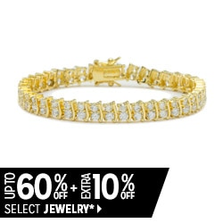 Up to 60% off + Extra 10% off Select Jewelry*