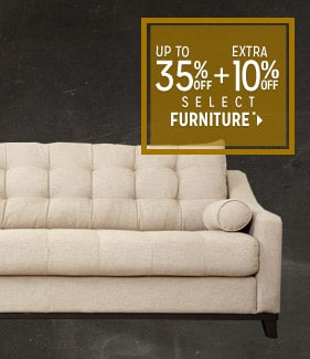 Extra 10% off Select Furniture*
