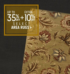 Extra 10% off Select Area Rugs*